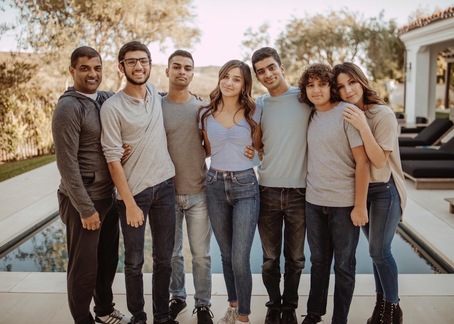 Amit Raizada and Family